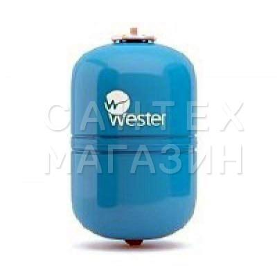 Мембранный расширительный бак Wester для водоснабжения