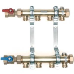 Распределительный коллектор HLV для систем радиаторного отопления