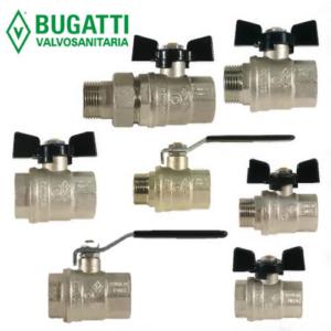 Шаровые краны Bugatti