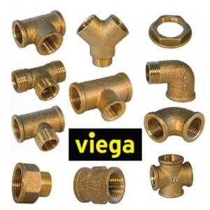 Резьбовые фитинги Viega