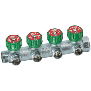 Коллектор FAR регулирующий на 4 отвода