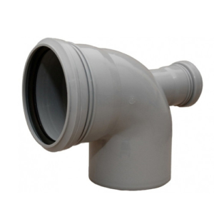 Отвод с выходом 50 110×90° фронтальный Политэк
