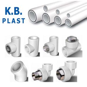 Полипропиленовые трубы и фитинги K.B.plast (эконом)