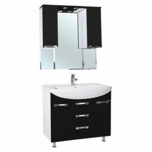Мебель для ванной Bellezza Альфа 90 черная