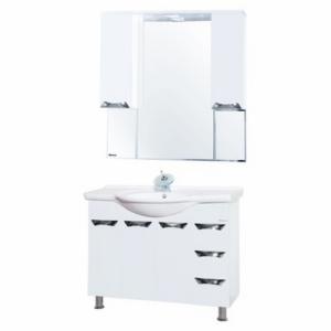 Мебель для ванной Bellezza Белла Люкс 105 белая