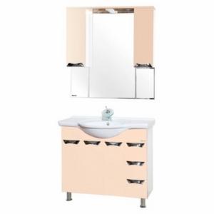Мебель для ванной Bellezza Белла Люкс 105 бежевая