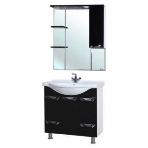 Мебель для ванной Bellezza Белла Люкс 75 черная