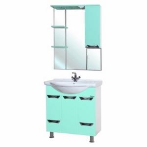 Мебель для ванной Bellezza Белла Люкс 75 салатовая
