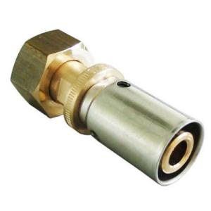 Прессовое соединение с накидной гайкой Cofit P