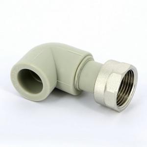 Угол сварка-В с накидной гайкой FV-PLAST