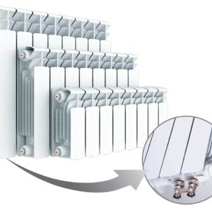Биметаллические радиаторы Rifar Monolit Ventil нижнее подключение