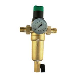Механический Фильтр Тим с редуктором для горячей воды